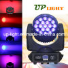 19X12W RGBW 4in1 LED Wash Poutre Moving Head DJ Lumière