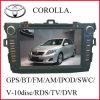 De Radio van de auto met GPS voor Bloemkroon (k-9110)