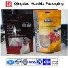 Stand up sac en plastique stratifié d'emballage pour nourriture pour animaux de compagnie / chiens