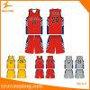 Uniforme feito sob encomenda do basquetebol de Jersey do basquetebol da impressão de Healong