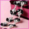 Al por mayor cadena de Bling Bling decorativo Copa diamantes de imitación para vestido de novia, venta al por mayor del vidrio cristalino del Rhinestone del ajuste de Fantasía