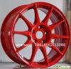 16inch 17inch roda bordas quentes do carro da venda da borda da roda da liga