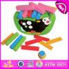 2014 jogo de madeira W11f033 do brinquedo do bebê da inteligência DIY do balanço