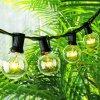 De zonne G40 Lichten van het Koord van de Bol, de OpenluchtVerlichting van Koord 13 LEDs voor de Lichten van het Terras van de Binnenplaats, de Binnen/OpenluchtLichten van het Koord