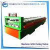 Painel da Parede do telhado trapezoidal metal frio máquina de formação do Rolo