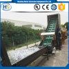 Macchina di riciclaggio di plastica del PE dello spreco pp dell'estrusore a vite del nastro trasportatore singola