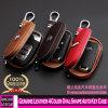 3009 en 4 colores de piel genuina forma de óvalo tecla Auto Caso