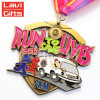 Barato de metal personalizados de alta calidad de las claves de la medalla de deporte