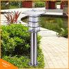 Landschaftspole-Licht-Solargarten-Rasen-Lampe des Edelstahl-LED