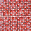 Red Cracked Glass Mosaic Tile (HGM314)