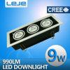 El LED aventuró las luces 9W