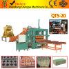 machine à fabriquer des briques semi-automatique hydraulique (QT5-20)