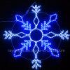 Indicatore luminoso di natale di motivo LED dei fiocchi di neve della corda del LED per la decorazione esterna