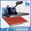 Máquina manual de la prensa del calor del control de la mano para la camiseta