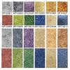 De rekupereerbare Romig witte VinylBevloering Kolor Mfo3004-2mm van pvc van het Patroon van de Steen