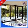 Aluminium de qualité/guichet et porte en aluminium de tissu pour rideaux