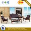 Sofá de cuero moderno de los muebles de oficinas de Vistior (HX-CS049)