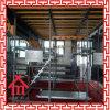 Sistema de acero concreto del andamio del encofrado de la azotea de la losa