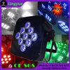 9X10W 4in1 건전지 무선 편평한 LED PAR64