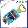 Abridor de garrafas de borracha de PVC macio de vendas quentes com design personalizado