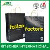 Bolso de compras de papel impreso modificado para requisitos particulares para la marca de fábrica famosa