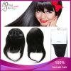 1b# popolare Sily Straight Peruvain Virgin Hair Clip in Bang