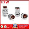 Conectores circulares del enchufe híbrido M23 para la industria