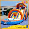 Corrediça inflável colorida do verão das corrediças de água da associação (AQ1007)