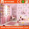 Sala de los niños de papel de pared decorativos con rosa/azul/amarillo/Gree colores