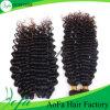 バージンのRemyの卸し売り毛は染められた人間の毛髪のよこ糸である場合もある