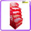 Schokoladen-Plätzchen-Förderung-gewölbtes Papier-Ladeplatten-Ausstellungsstand