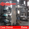 Auto cargador y Unidad Material de descargador automático para Cj884-1000 máquina 4 en color de alta velocidad de impresión flexográfica