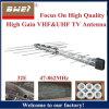 32e de UHFAntenne van TV van VHF voor de Markt van Togo