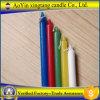 Il colore esamina in controluce le candele del regalo delle candele di Chirstmas