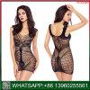 Fishnet acetinado mulheres erótico lingerie sexy Banheira
