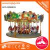 Le parc d'attractions Archaize le carrousel les jouets qu'extérieurs de jeu joyeux vont rond