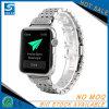 Cinturino del diamante dell'acciaio inossidabile per la vigilanza del Apple