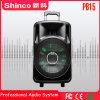 Shinco LEDライトが付いている力の充電電池の無線Bluetoothの大きいスピーカー15インチの