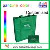 Sac à provisions se pliant non tissé promotionnel de traitement de sac d'emballage de sac à provisions