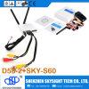 El receptor de diversidad del vídeo Transmitter+ D58-2 del kit Sky-N500 500MW 5.8g Fpv de Skysighthobby Fpv es buena opción para los anteojos de Fpv