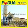 Planta de procesamiento por lotes por lotes concreta inmóvil Hzs75 con el compartimiento de la subida