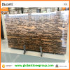 de Kust Bruine Opgepoetste Marmeren Plakken van 3cm China voor Projecten