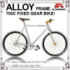 700c Alloy Frame Order Color Track Bicycle (KB-700C01)