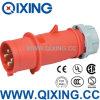Qixing Spitzentyp industrieller Stecker IP44 400V 16A 4p (3P+E) gekennzeichnetes Produkt