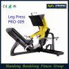 Prensa comercial PRO-009 de la pierna de las máquinas del ejercicio de la fuerza