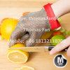 Edelstahl-Ineinander greifen geschnittener beständiger Handschuh/Kettenhemd-Schutzblech