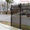 Загородка гарнизона Fencing//Garden черного порошка PVC (XM-P11)