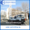Wasser-Vertiefungs-Ölplattform-LKW eingehangenes Bohrloch