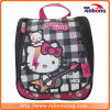 Высокое качество Клетчатую Hello Kitty красочной печати школьные сумки