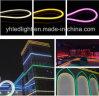 Cuerda R/G/B/Y/W/Ww multicolor de la flexión del alto brillo SMD2835 para la decoración del jardín/del parque